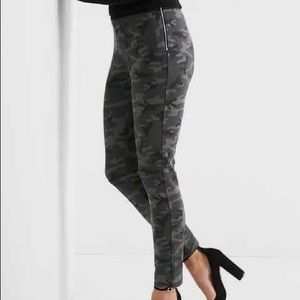Gap Camo Ponte Pants/Leggings M